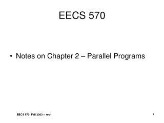 EECS 570