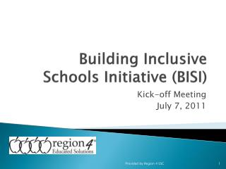 Building Inclusive Schools Initiative BISI