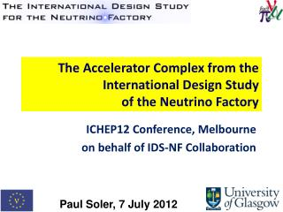 The Accelerator Complex from the International Design Study  of the Neutrino Factory