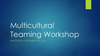 Developing cultural awareness in short-term missionaries
