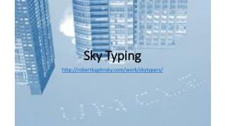 Sky Typing