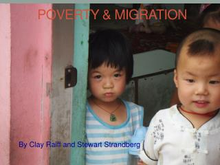 POVERTY & MIGRATION