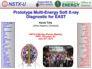 Prototype Multi-Energy Soft X-ray Diagnostic for EAST