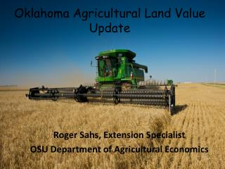 Oklahoma Agricultural Land Value Update