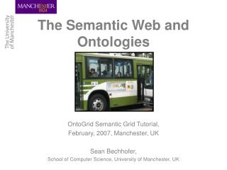 The Semantic Web and Ontologies