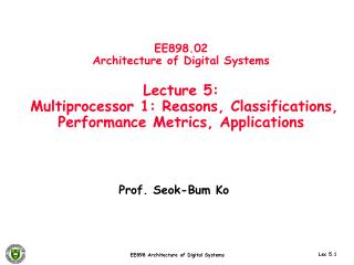 Prof. Seok-Bum Ko