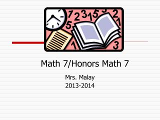 Math 7/Honors Math 7