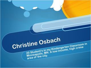 Christine Osbach