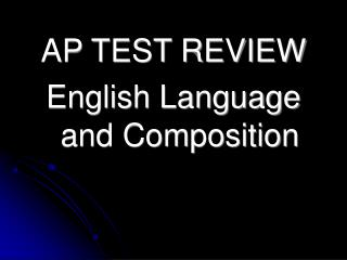 Ap language qualify essay