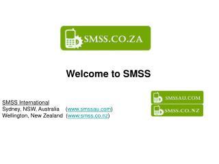 Welcome to SMSS SMSS International Sydney, NSW, Australia    ( smssau )