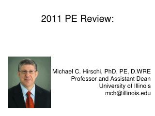 2011 PE Review: