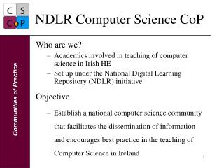 NDLR Computer Science CoP