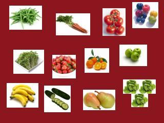 fruit veg kims game