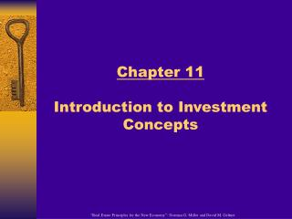 Chapter 11 Introduction to Investment Concepts