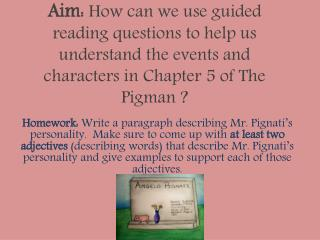 PM Lesson 7 Chapter 5 Guided Reading