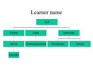 Learner name
