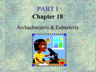 PART I Chapter 18 Archaebacteria & Eubacteria