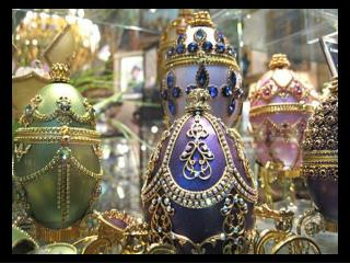 Peter Carl Faberge  and his workshop made incredibly intricate Easter eggs