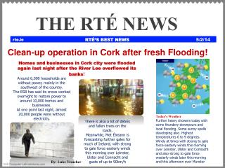 RTÉ'S BEST NEWS
