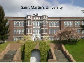Saint Martin�s University