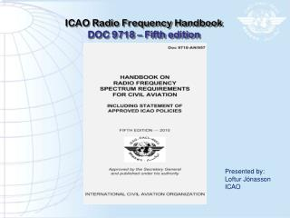 ICAO Radio Frequency Handbook DOC 9718 � Fifth edition