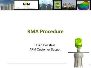 RMA Procedure