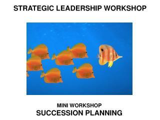 STRATEGIC LEADERSHIP WORKSHOP