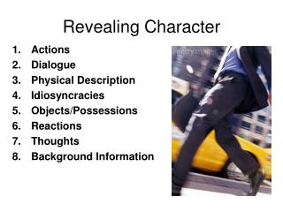 Revealing Character