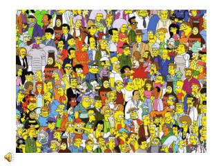 The Simpson's family tree