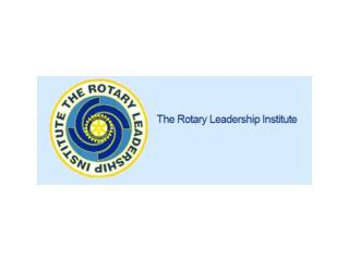 What Is  The Rotary Leadership Institute (RLI)?