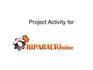 Project Activity for