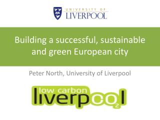 Building a successful, sustainable and green European city