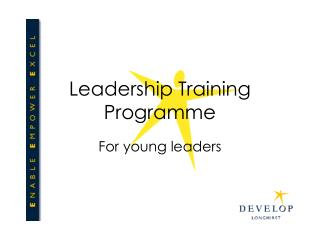 Leadership Training Programme