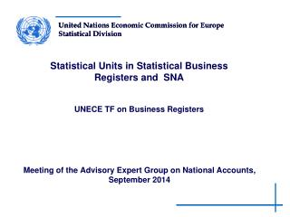 Meeting of the Advisory Expert Group on National Accounts, September 2014
