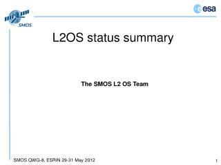 L2OS status summary