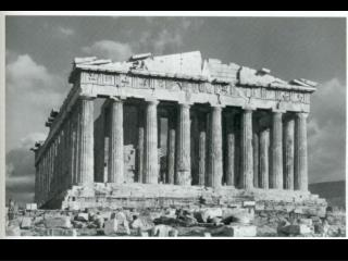Greek The Parthenon (view from the west) 448-432 B.C. Acropolis, Athens