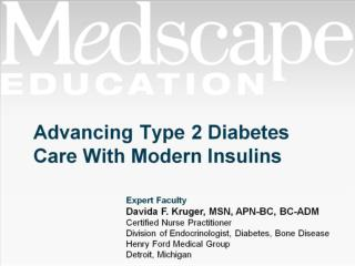 Advancing Type 2 Diabetes Care With Modern Insulins