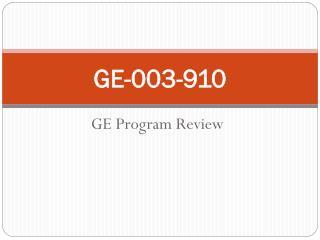 GE-003-910