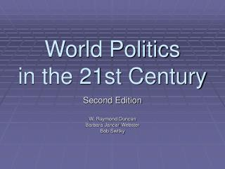 World Politics  in the 21st Century