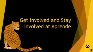 Get Involved and Stay Involved at Aprende