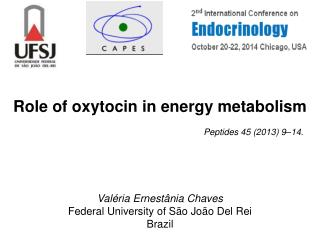 Role of oxytocin in energy metabolism