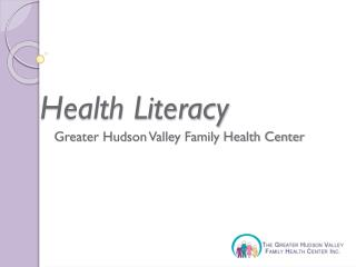 Greater Hudson Valley Family Health Center