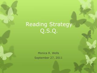 Reading Strategy Q.S.Q.