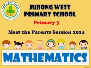 Primary 3  Meet the Parents Session 2014