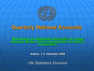 Quarterly National Accounts