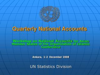 Quarterly National Accounts