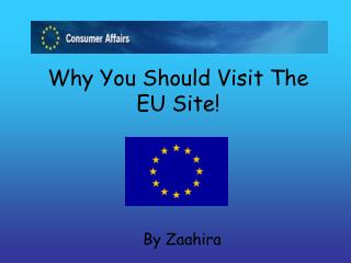 Why You Should Visit The EU Site!