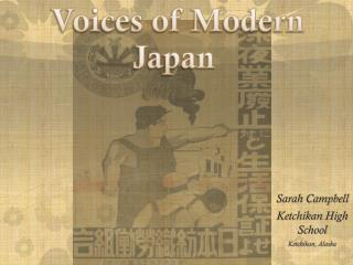 Voices of Modern Japan