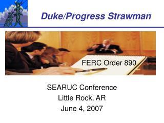 SEARUC Conference Little Rock, AR June 4, 2007
