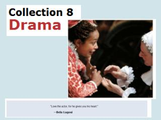 Intro to Drama Lit pages 750 756 Elements and Vocab